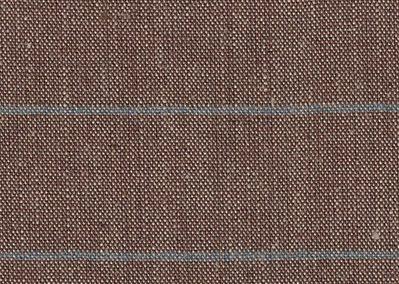 L11.19 Linnen streep bruin donker