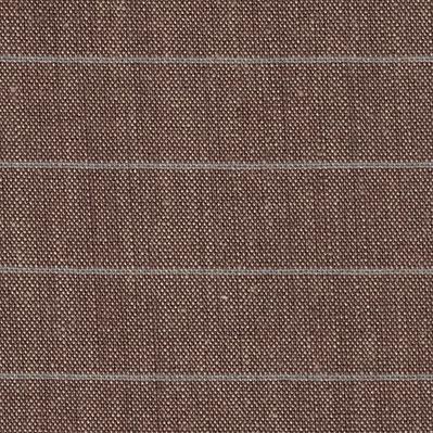 L16.19 Linnen streep bruin/denim smal