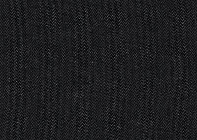 67.20 Cotton Cross Twill – finely woven • Black